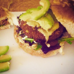 Mexican Bean Burger